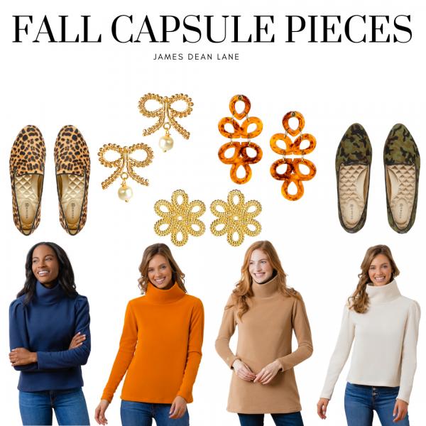 Fall Capsule Wardrobe Pieces